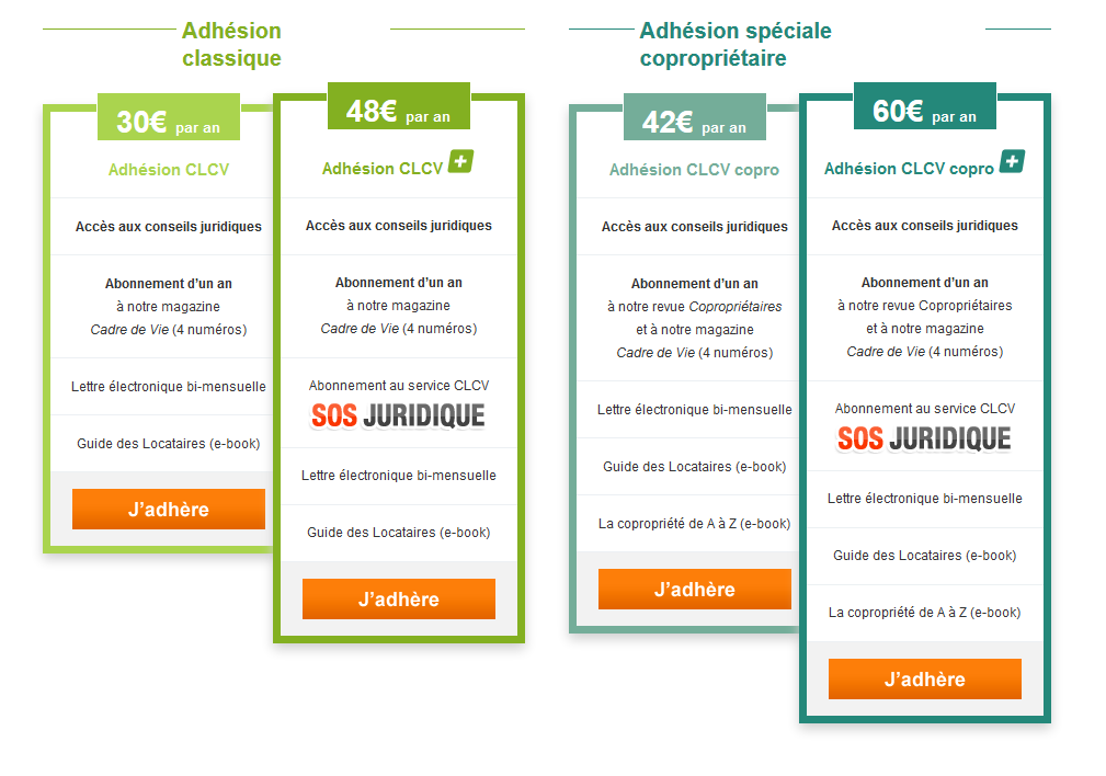 tarif adhésion