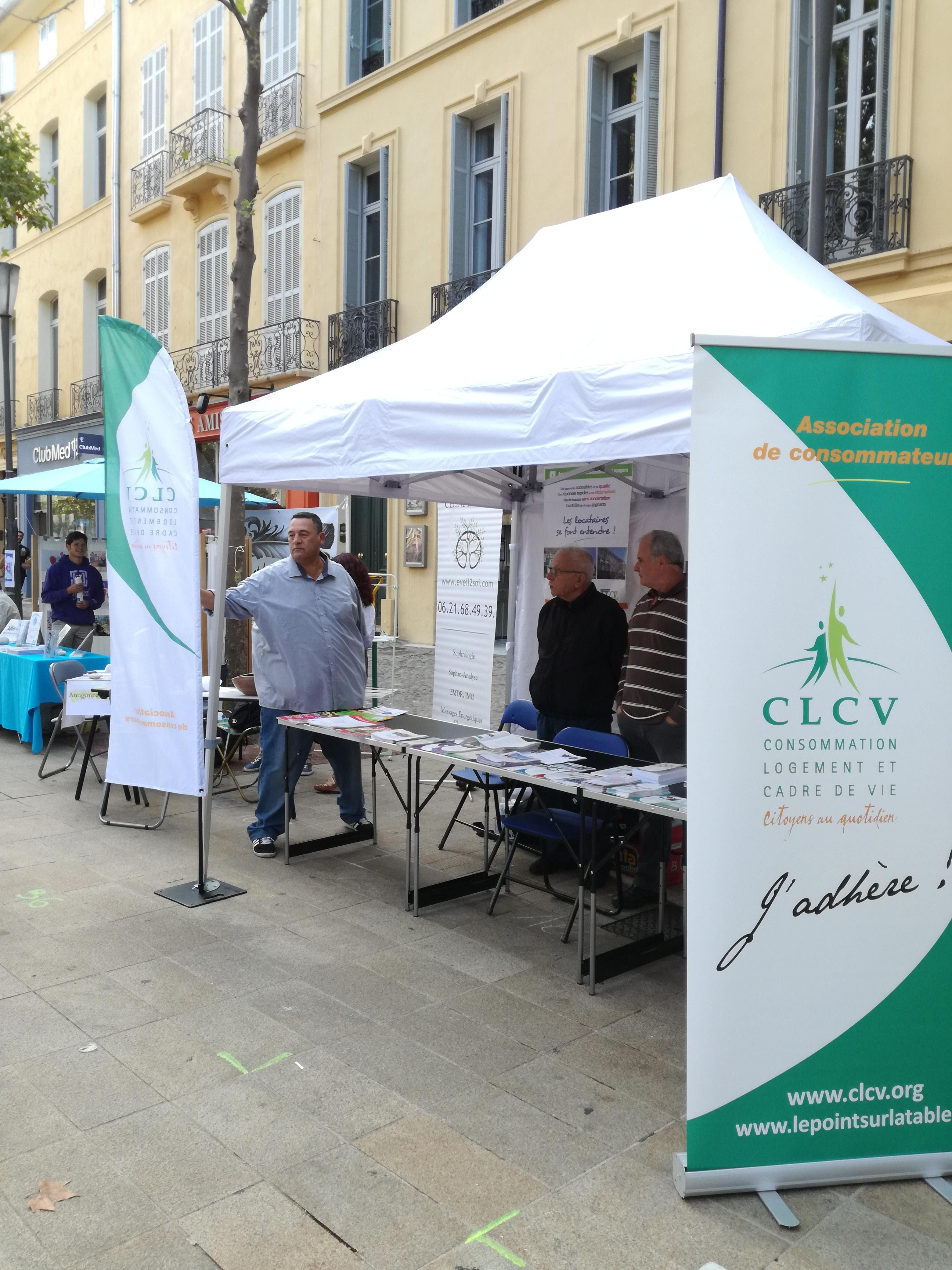 Rejoignez nous clcv des bouches du rh ne - Journee des associations salon de provence ...